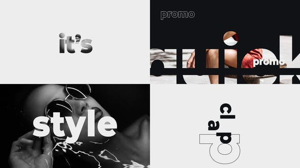 Videohive Stomp Rhythm Opener Bold Typography 24513376