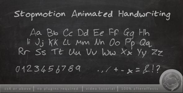 Videohive Stopmotion Handwriting 2544884