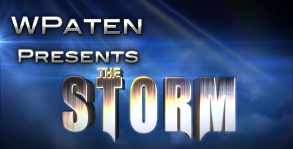Videohive StormEpicMovie