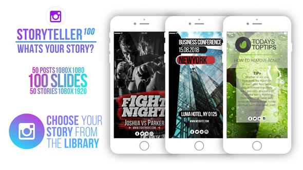 Videohive Storyteller 100 22452499