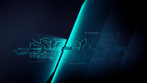 Videohive Street Racing 25722585
