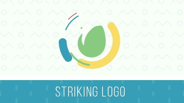 Videohive Striking Logo Intro 19819349