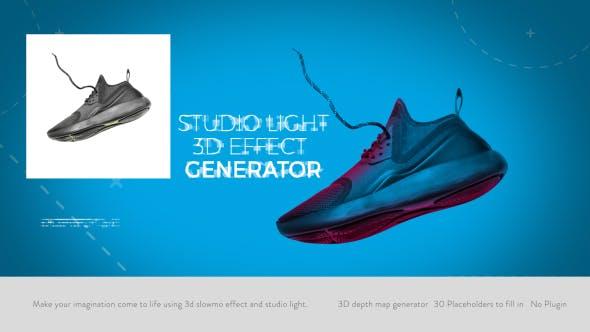Videohive Studio Light I 3D Effect Generator 20761601