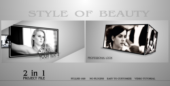 Videohive Style Of Beauty.155461