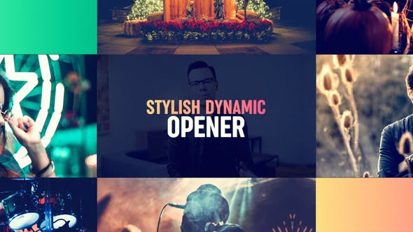 Videohive Stylish Dynamic Opener 23586497