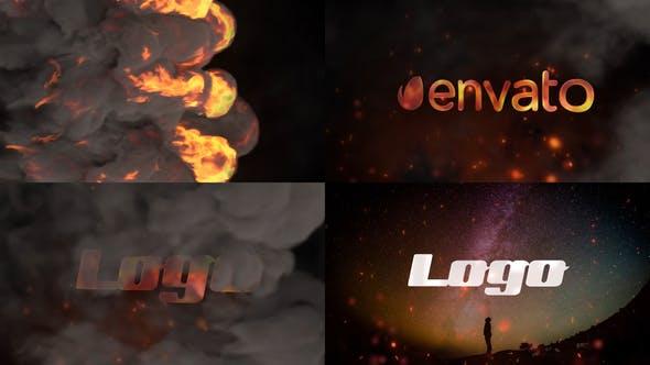Videohive Stylish Fire Logo 26758136