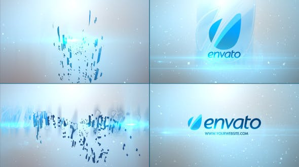 Videohive Stylish Glossy Logo 4181665