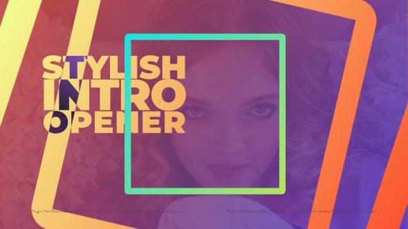 Videohive Stylish Intro Opener 21498468