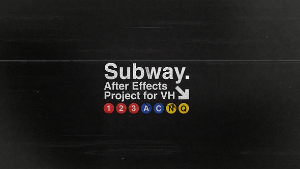 Videohive Subway 10134113