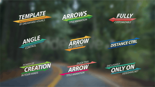 Videohive Summer Arrow Titles 11694800
