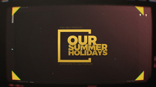 Videohive Summer Holidays 20014514