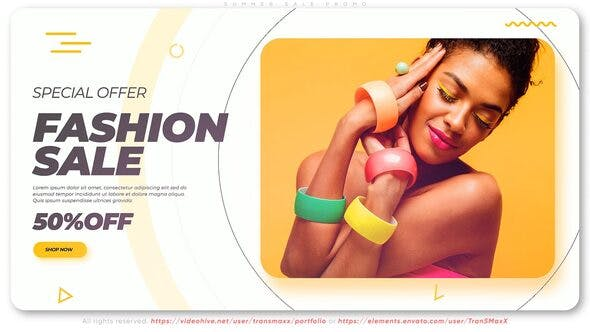 Videohive Summer Sale Promo 27057756