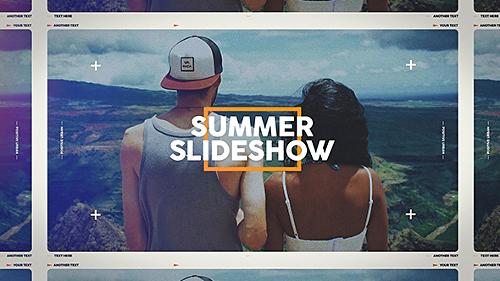 Videohive Summer Slideshow 19912266