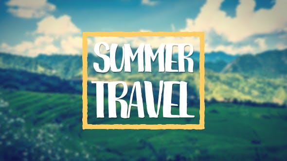 Videohive Summer Travel 17696261