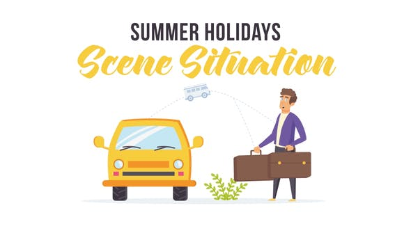 Videohive Summer holidays - Scene Situation 27597117