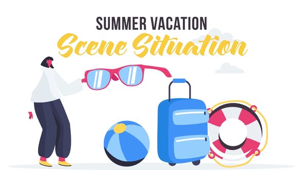 Videohive Summer vacation - Scene Situation 27642920