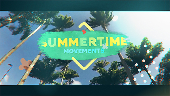 Videohive Summertime Movements - Bright Opener 20286763