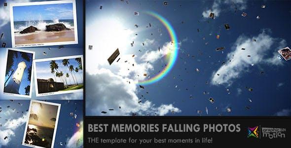 Videohive Sunny Falling Photos Slideshow 1868349
