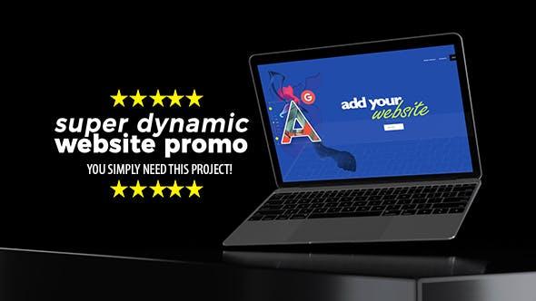 Videohive Super Dynamic Website Promo 21546387
