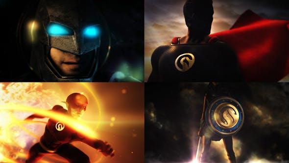 Videohive Super Epic Hero Logo 26367147