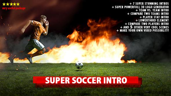 Videohive Super Soccer Intro 20457314