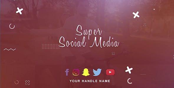 Videohive Super Social Media 21564952