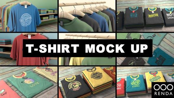 Videohive T-Shirt Mockup 24604556