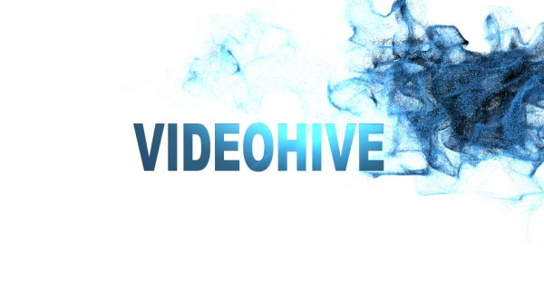 Videohive TEXT in particles