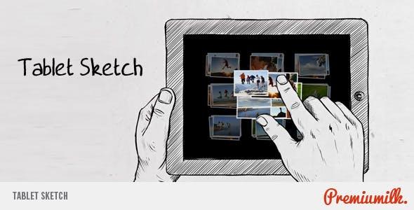 Videohive Tablet Sketch 674364
