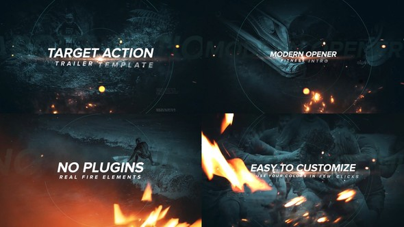 Videohive Target Action Trailer 22075065