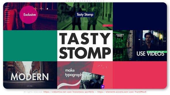 Videohive Tasty Stomp Intro 26999007