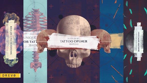 Videohive Tattoo Studio Opener 26862271
