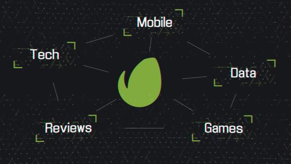 Videohive Tech Grid Logo 21177992