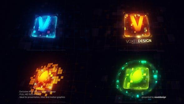 Videohive Techno Block Logo 23012915