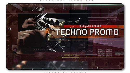Videohive Technology Cinematic Promo 20714194