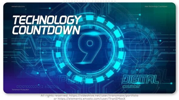 Videohive Technology Countdown 26148048