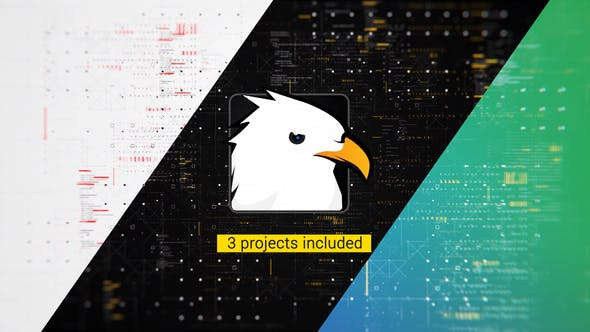 Videohive Technology Logo Reveal Pack 3-in-1 23114642