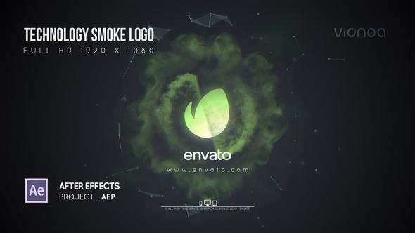 Videohive Technology Smoke Logo 21644686