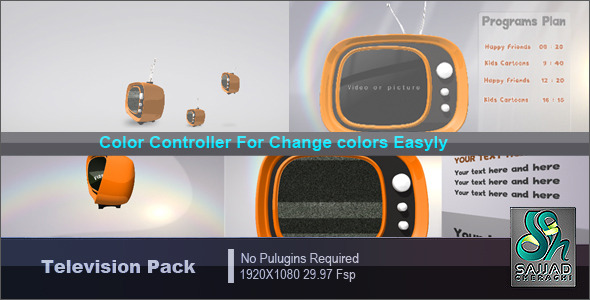 Videohive Television Pack 1322846