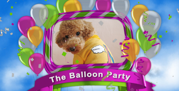 Videohive The Balloon Party