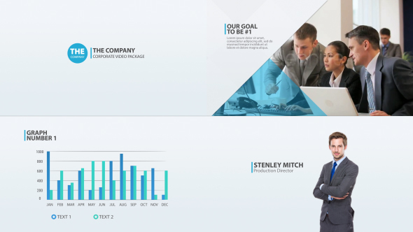 Videohive The Company - Corporate Video Package 14461038