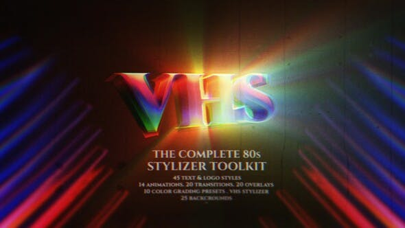 Videohive The Complete 80s Stylizer Toolkit 26783660