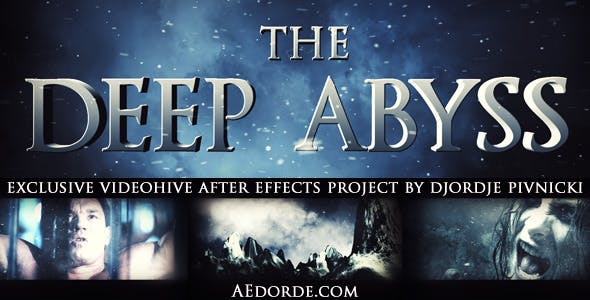 Videohive The Deep Abyss - Cinematic Trailer 1223469