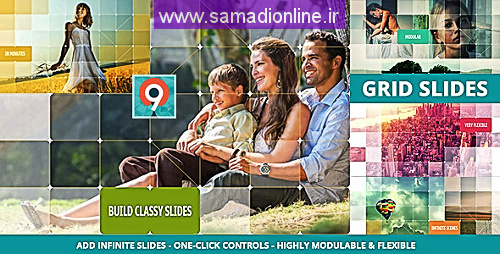 Videohive The Grid Slides Builder