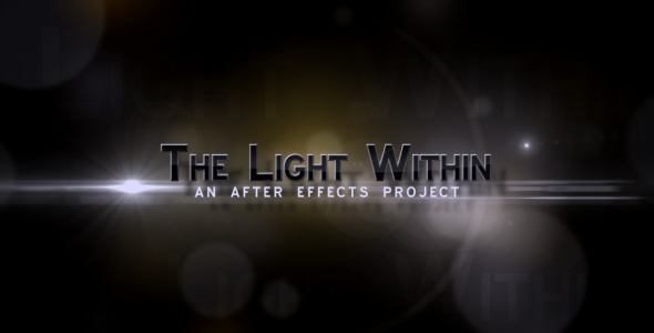 Videohive The Light With in