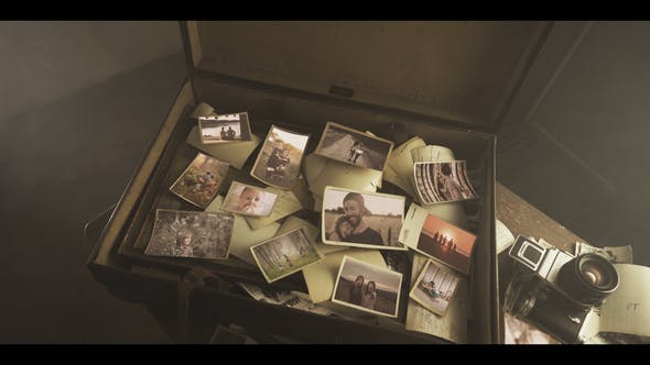 Videohive The Old Suitcase Memories 26902563