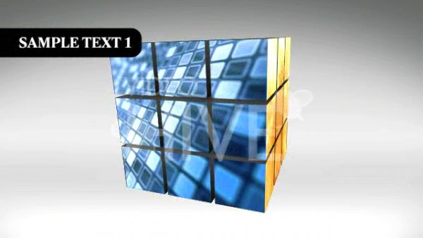 Videohive The Puzzle Cube Project 53375