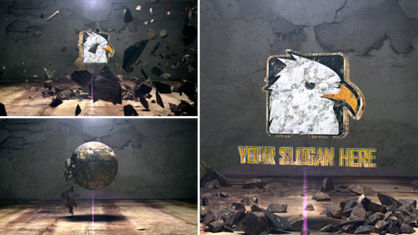 Videohive The Spherical Rock Logo 5816063