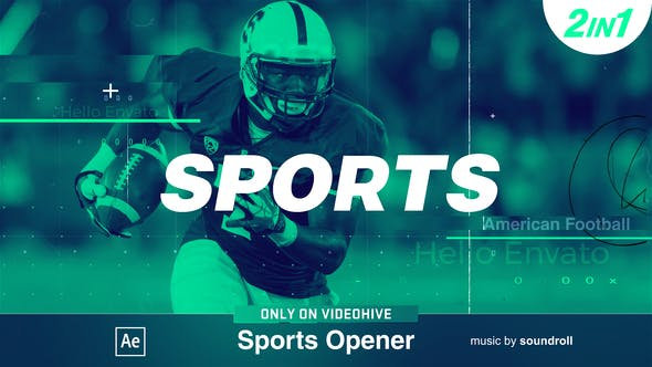 Videohive The Sports 14352270