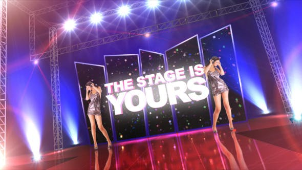 Videohive The Stage is Yours 4170800